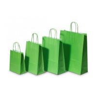 Papierová taška, stáčané...