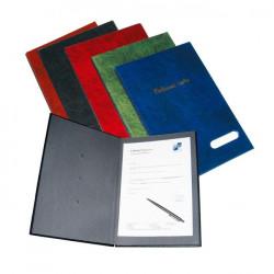 Podpisová kniha plastová 14 KARTON PP modrá
