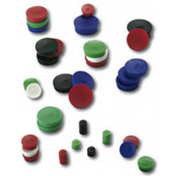 Magnet 30 mm modrý 10 ks
