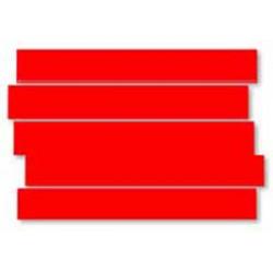 Magnetický pásik Legamaster 10x300mm červený