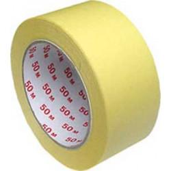 Maskovacia krepová páska 50mmx50m žltá