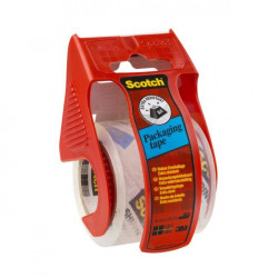 Baliaca páska Scotch 50mmx20m s dispenzorom priehľadná