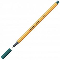 Liner STABILO Point 88 jedľovo zelený